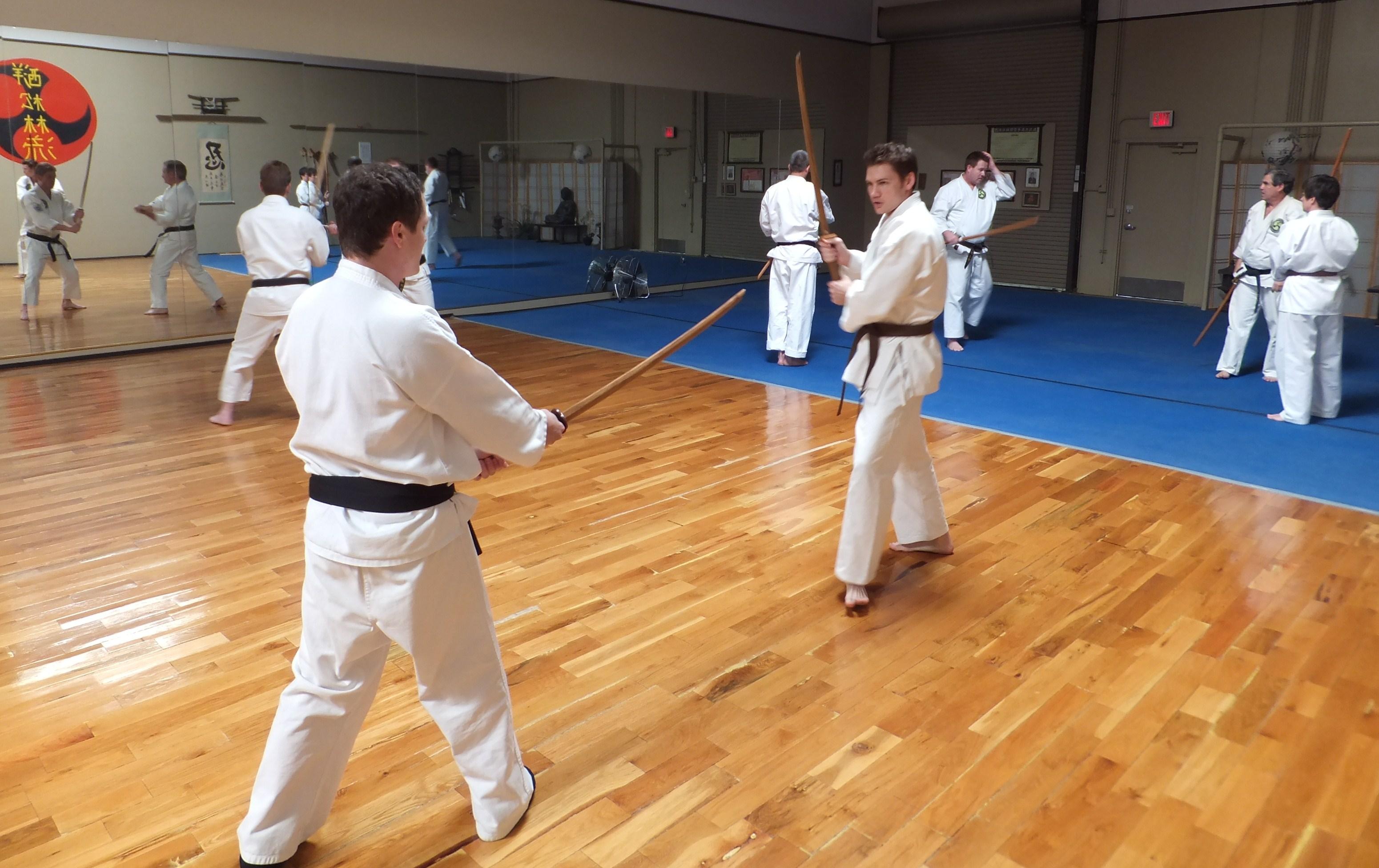 Boken (sword) training
